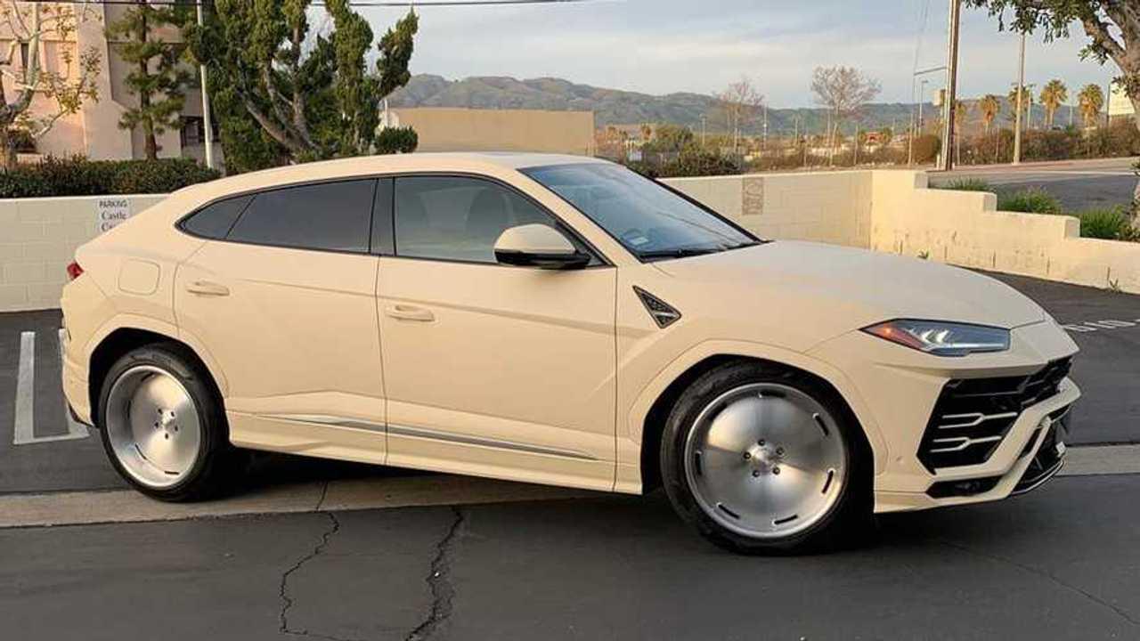Kanye West Lamborghini Urus