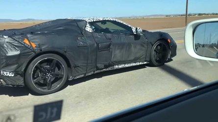 Президент GM лично тестирует новый C8 Chevrolet Corvette