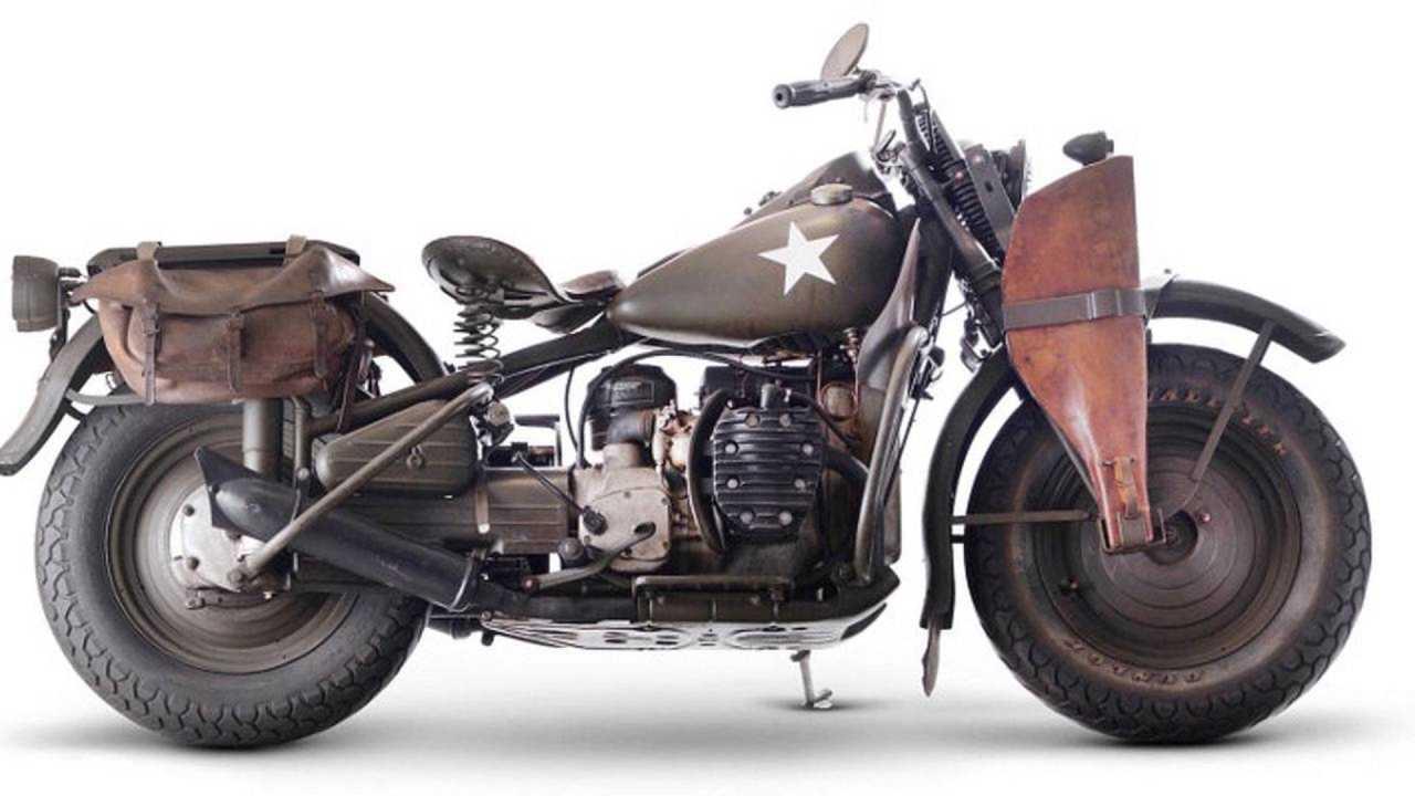 Army Green Harley-Davidson
