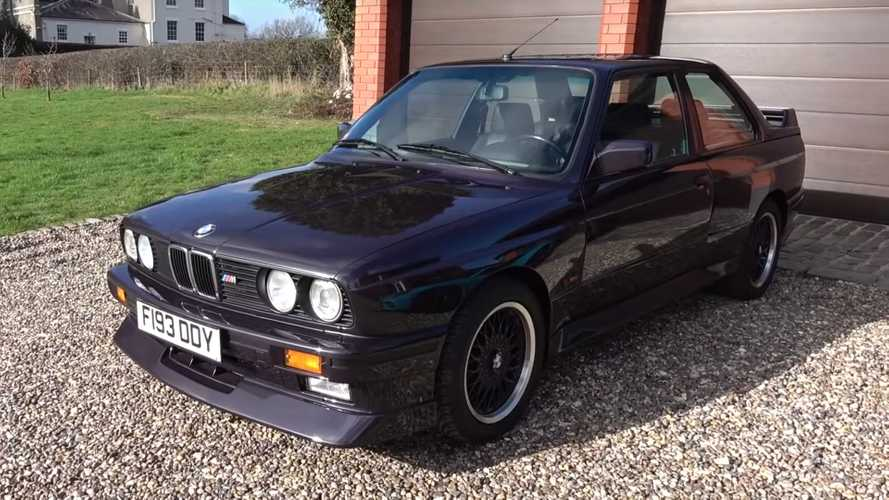 Watch This Rare BMW M3 E30 Johnny Cecotto Stretch Its Legs