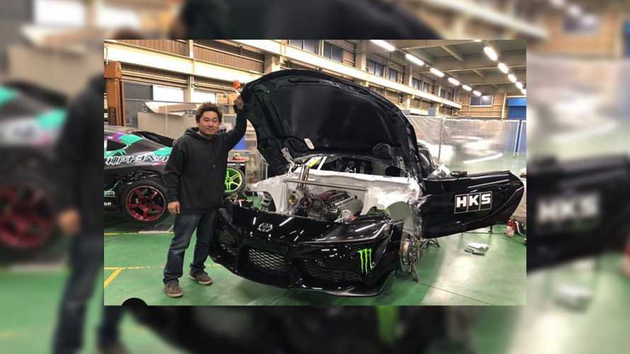 2020 Toyota Supra drift car revealed with 2JZ engine swap