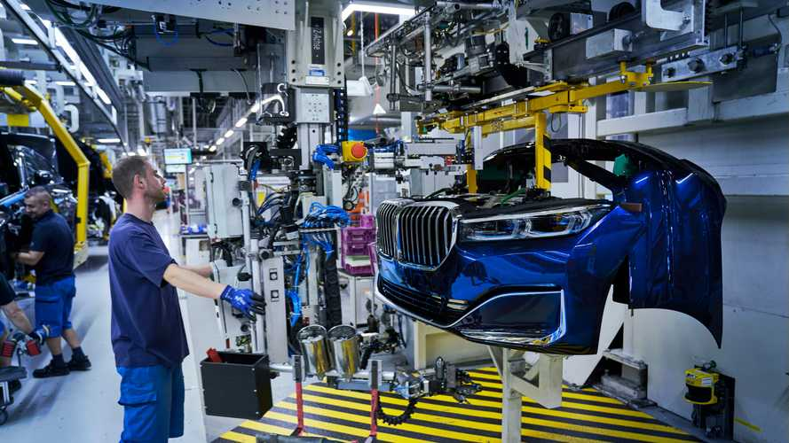 BMW 7 Series Facelift production starts