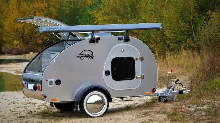 Der Mini-Wohnwagen Steeldrop von LifeStyleCamper