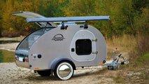 Der Mini-Wohnwagen Steeldrop von Camping Adventures