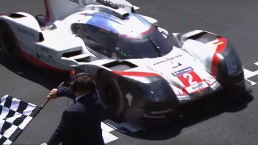 Why is Porsche selling vinyl records made from 919 hybrid's tyres?