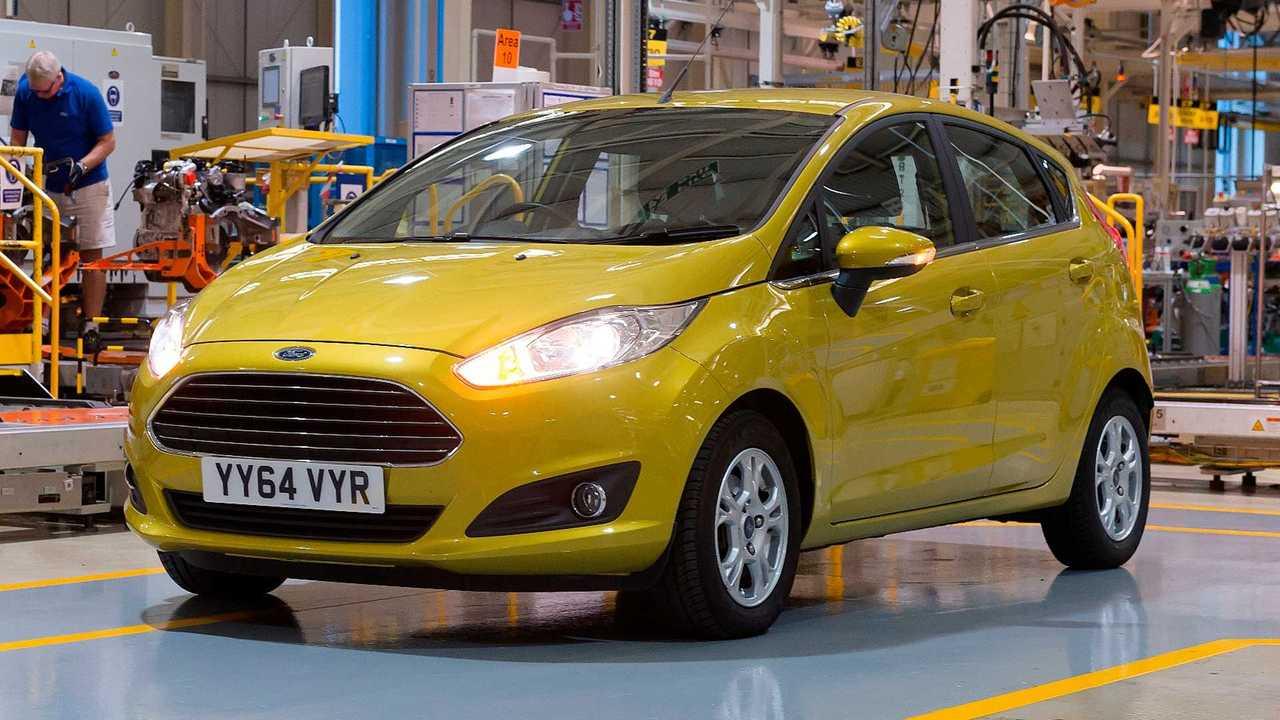 Ford Fiesta at Dagenham UK plant