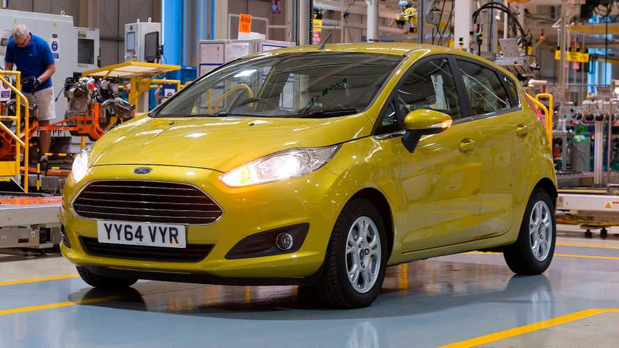 Ford Fiesta at Dagenham UK plant