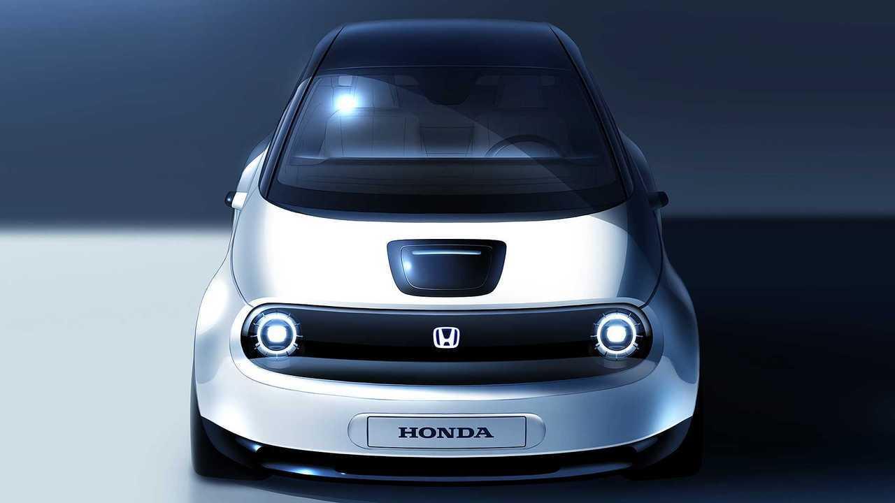 Teaser Honda Urban EV 2019