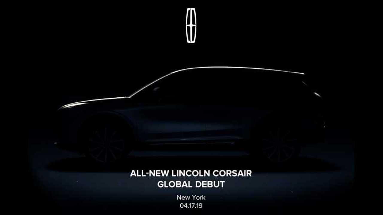 2020 Lincoln Corsair teaser image