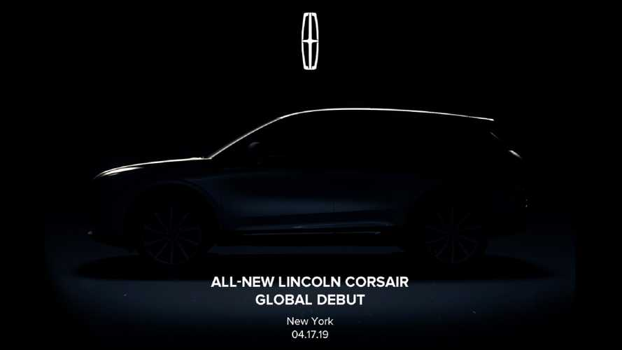 2020 Lincoln Corsair Teased Ahead Of New York Debut