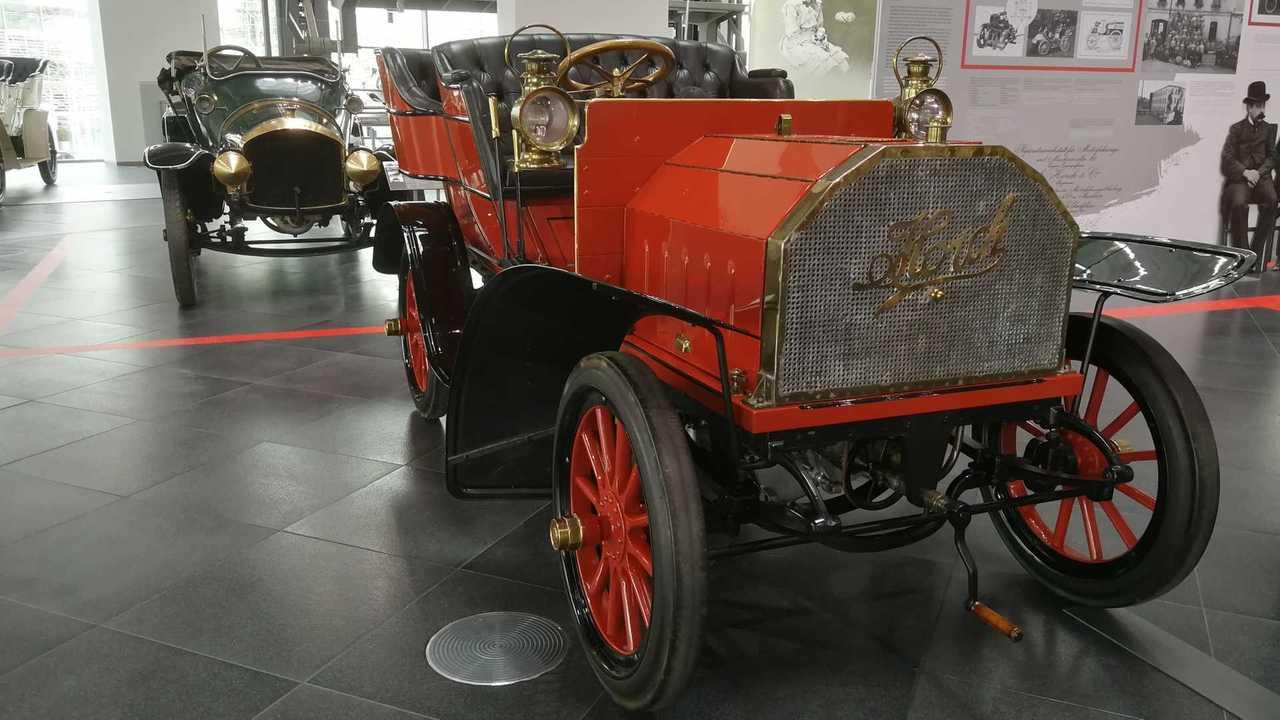 Horch 10-12 PS, Modell 2, Tonneau (1903)
