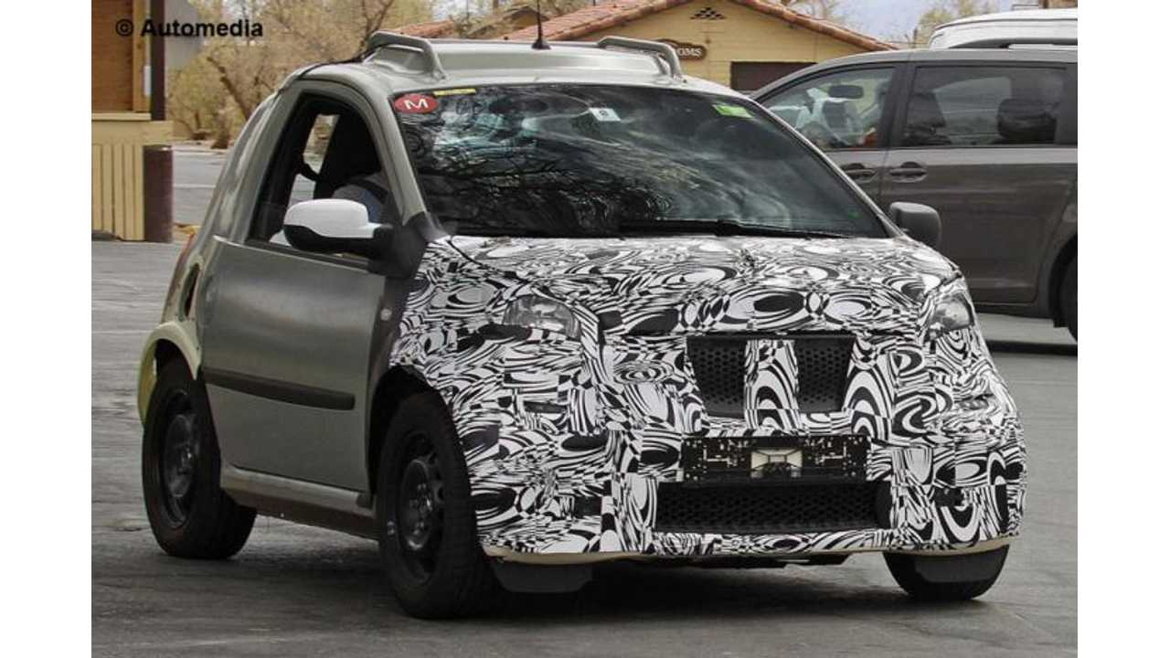 Wonder What the Next-Gen Smart Fortwo Electric Drive Will Shape-Up Like? Here's a Glimpse