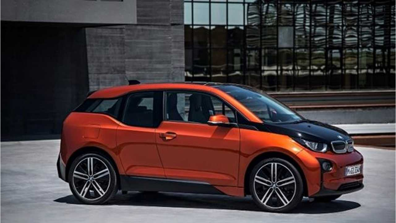 BMW i3 Has Less Visual Weight