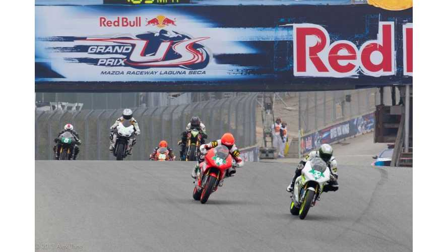 Eric Bostrom Wins FIM eRoadRacing Season Opener at Laguna Seca