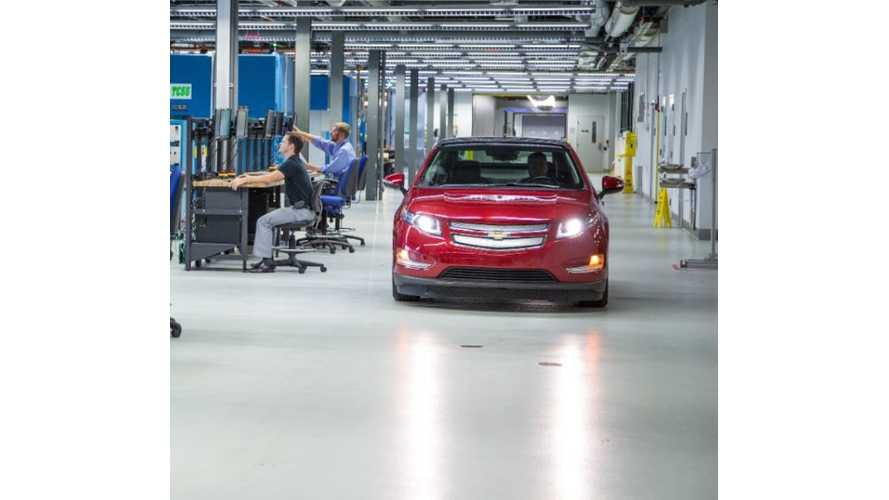 GM Adds 50,000 Sq Feet To Battery Lab;  Facilitiy Tripled in Size Over Last 4 Years (w/video)