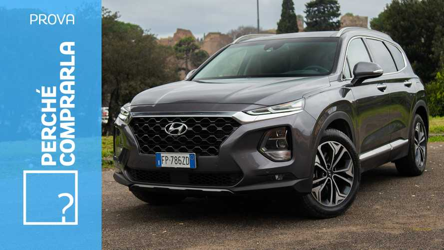 Hyundai Santa Fe, perché comprarla e perché no