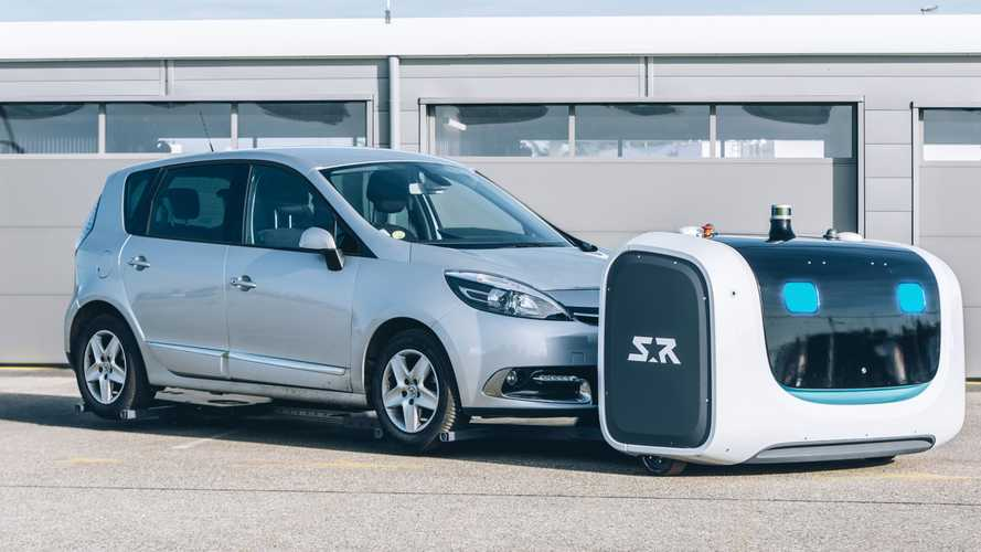 Gatwick airport to trial robot valet parking