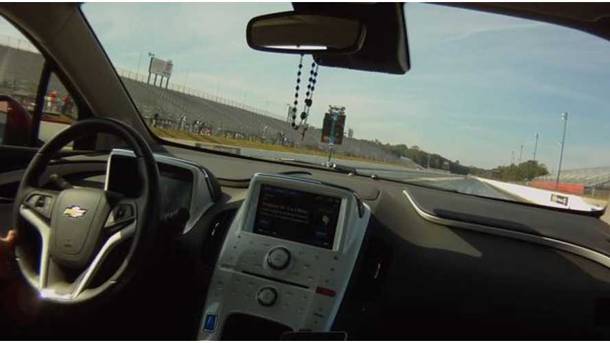 Video: 2013 Chevy Volt Drag Races for Charity at Atlanta Dragway