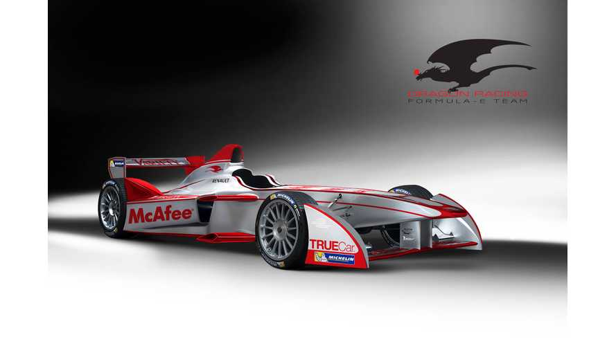 Dragon Racing Becomes 4th Team to Join Formula E