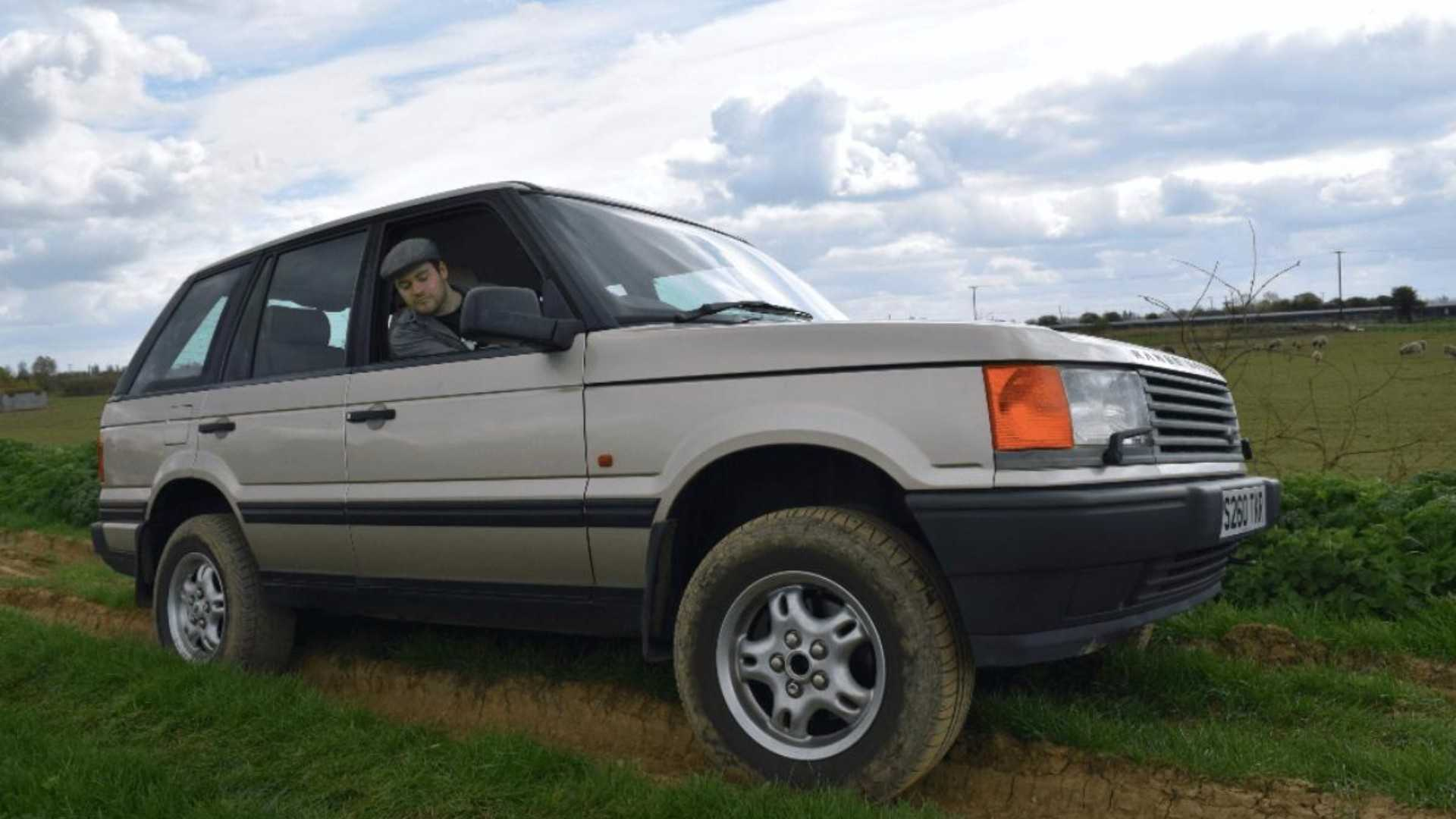 "[""Meet our Range Rover P38!""]"