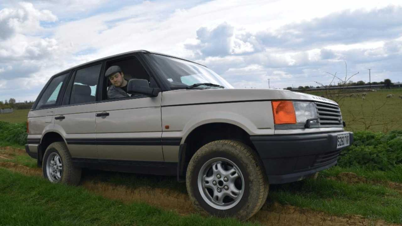 Meet our Range Rover P38!