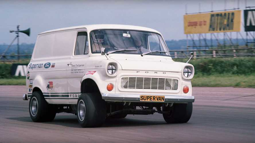 The Crazy Ford Supervan Powered By A GT40