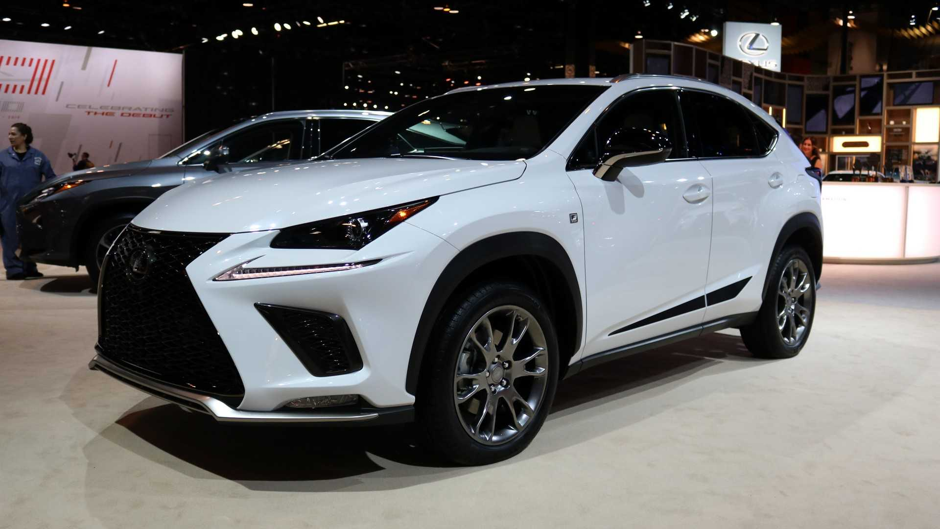 2019 Lexus NX Black Line Brings Extra Style To Chicago ...