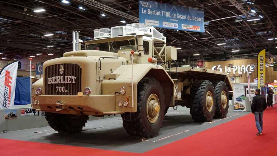 Berliet T100, le géant de Rétromobile 2019