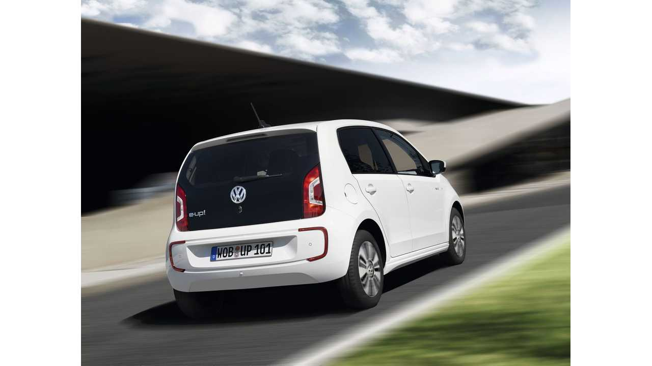 Volkswagen e-Up! Test Drive Review