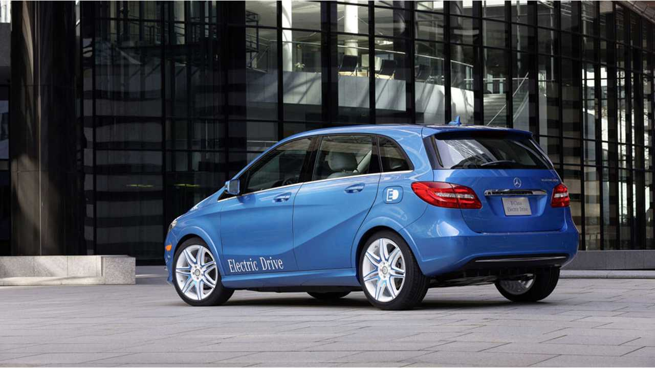 B-Class Electric Drive is Powered by Tesla