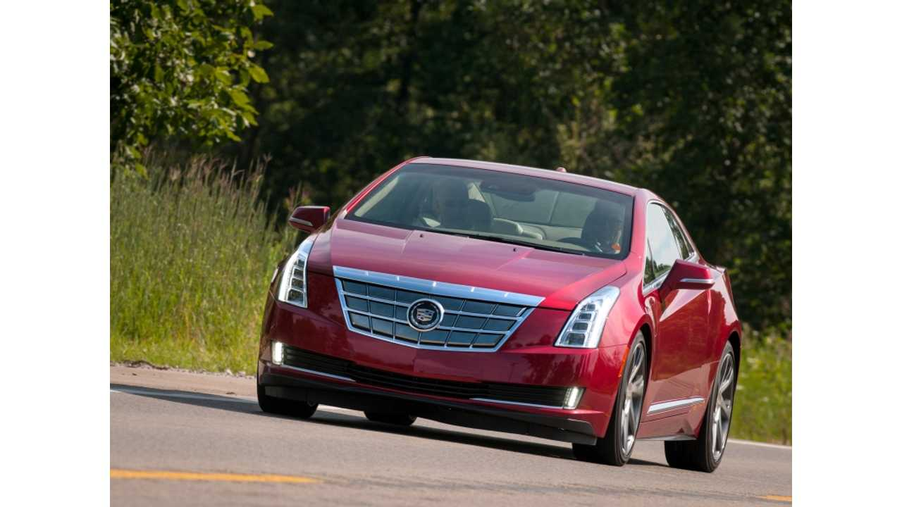 Cadillac ELR is First Caddy Plug-In...More to Come