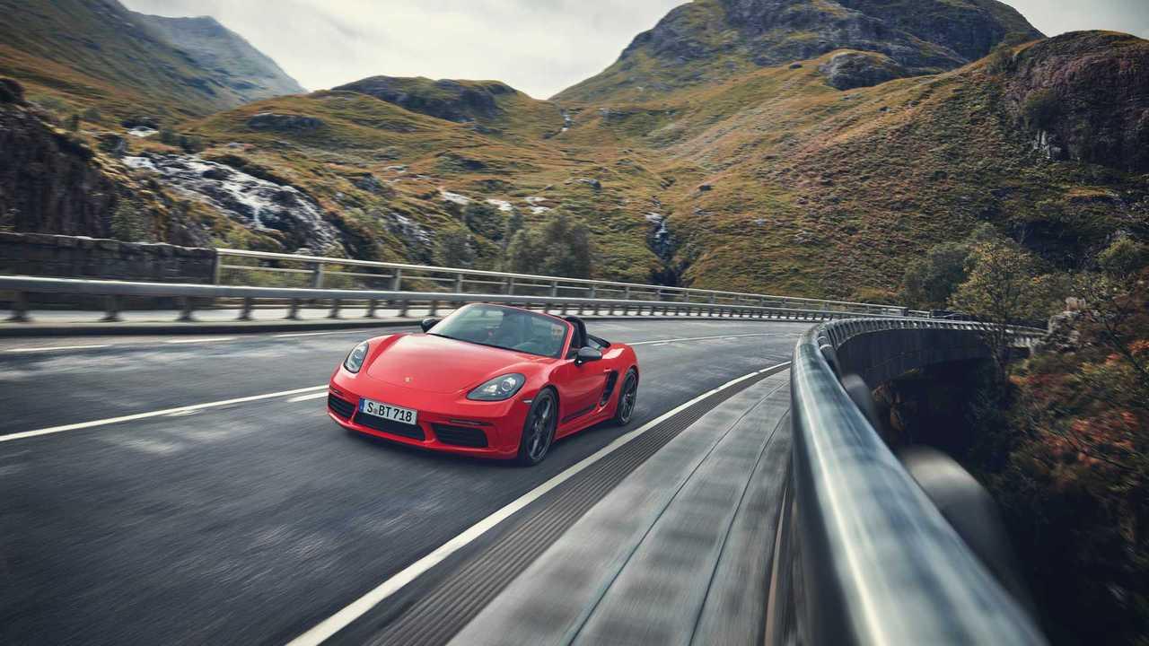 2019 Porsche 718 Boxster T Profil avant