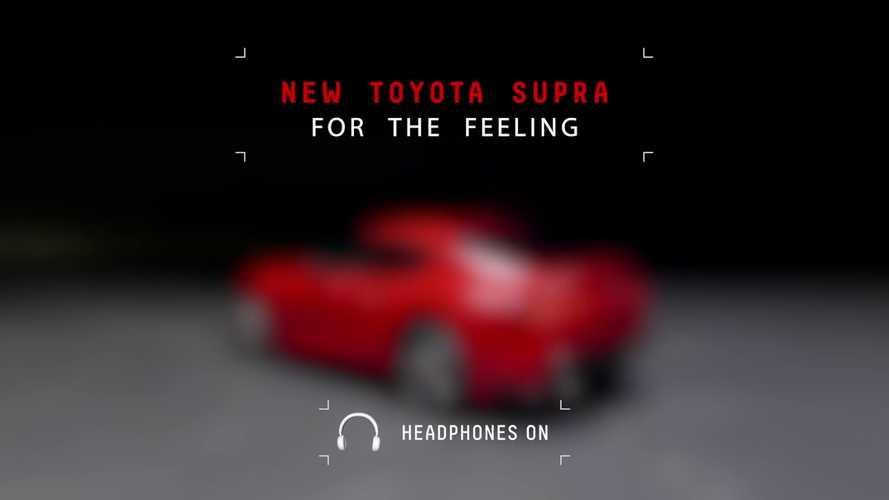 2020 Toyota Supra Engine Sound Revealed In Yet Another Teaser