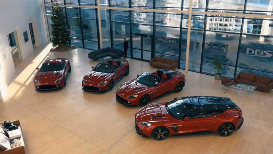 Valaki mind a négy Aston Martin Vanquish Zagatót megvásárolta