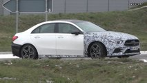 New Mercedes-AMG A35 Sedan, A45 Hatchback screenshots from spy videos