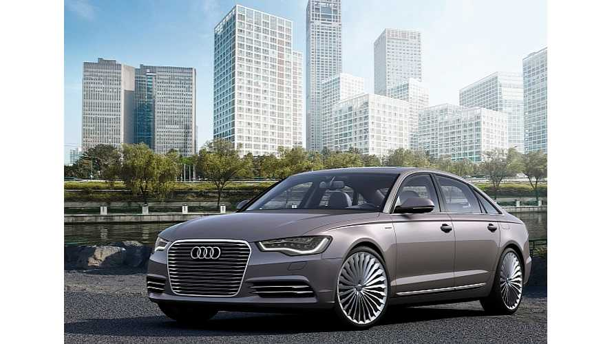 Audi A6 e-Tron Confirmed For Production
