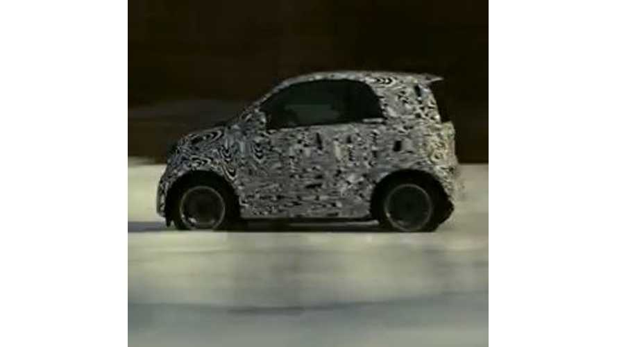 Next-Gen Smart Fortwo Revealed In Winter Testing Video - Electric Version Will Continue To Be Offered