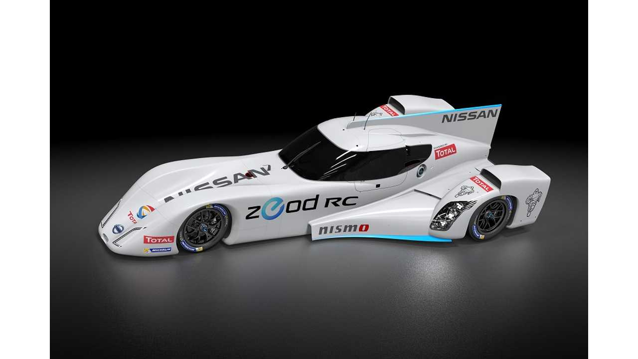Nissan ZEOD RC Conducts Testing On Snetterton Track (Video)