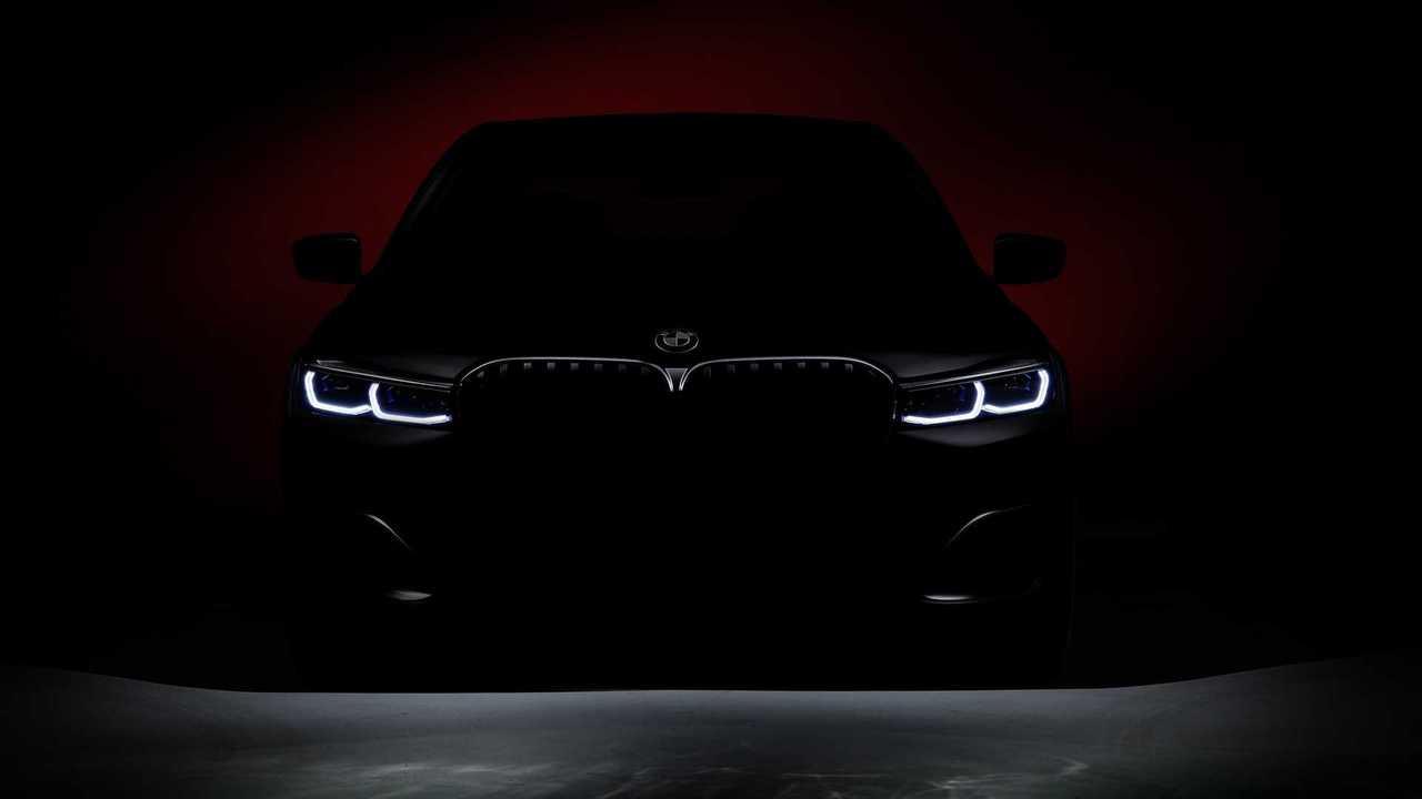 2020 BMW 7 Series facelift teaser