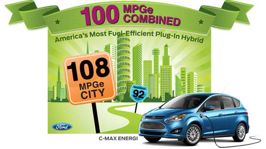 Ford C-Max Energi Gets Official EPA Rating of 100 MPGe Combined