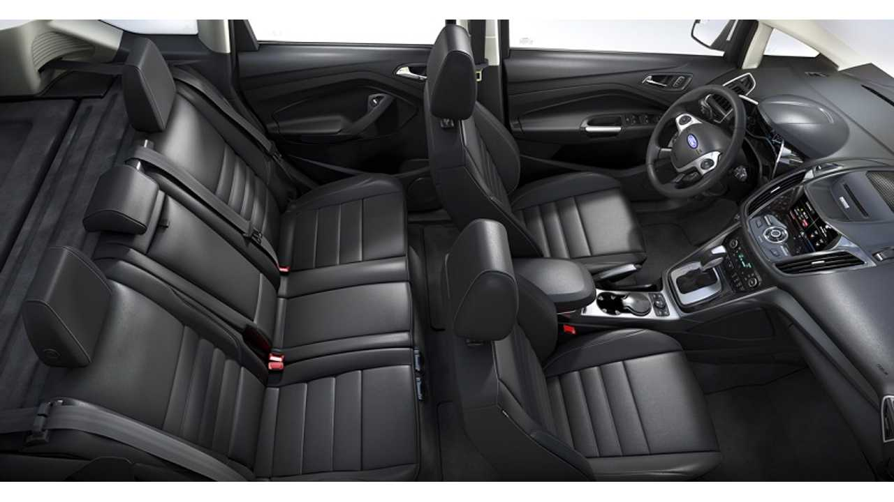Ford C-Max Interior (click to enlarge)