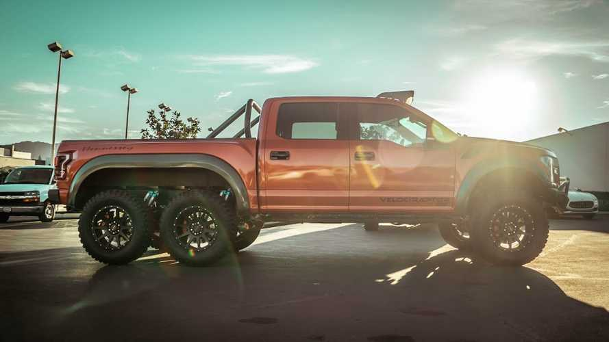 Hennessey VelociRaptor 6x6 Looks Equally Intimidating And Cool