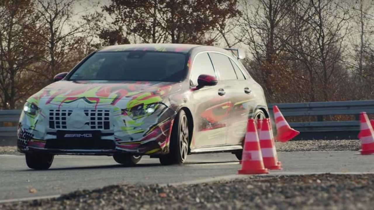 Mercedes-AMG A 45 2019 teaser
