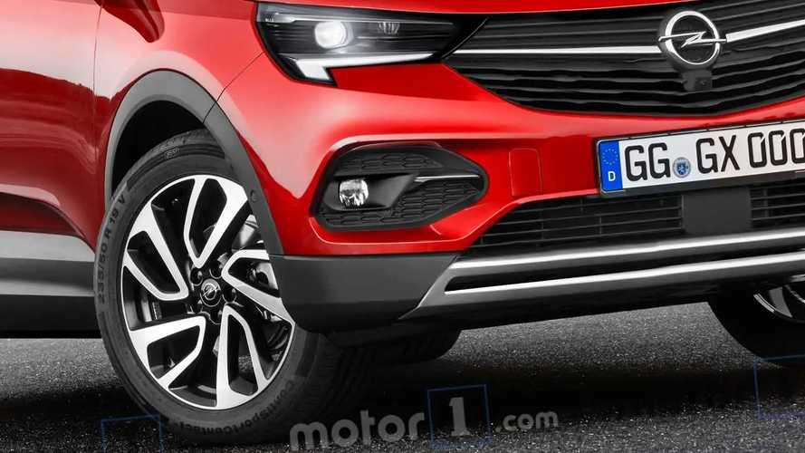Opel Mokka X rendering