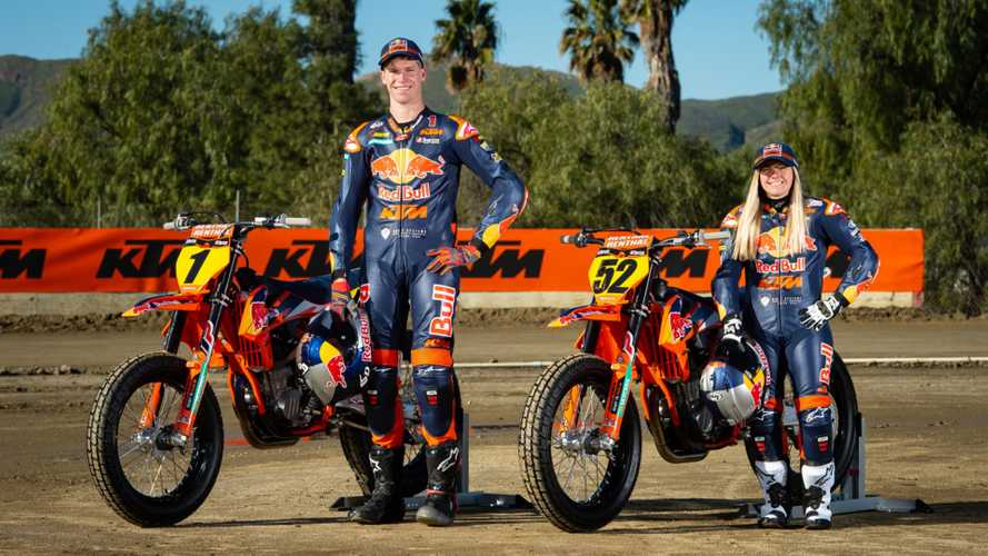 KTM Flat Track Feature