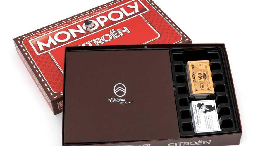 Un Monopoly Citroën pour le centenaire de la marque