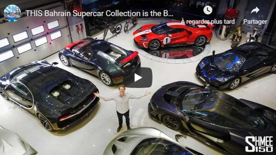 VIDÉO - Une incroyable collection de voitures au Bahreïn