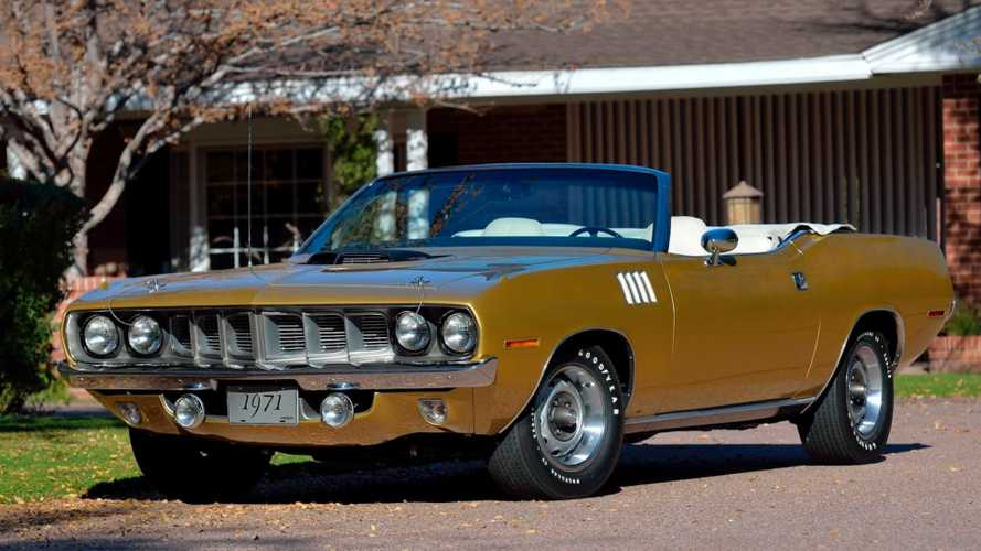 One-of-Five Six Pack 1971 Plymouth Cuda Convertible