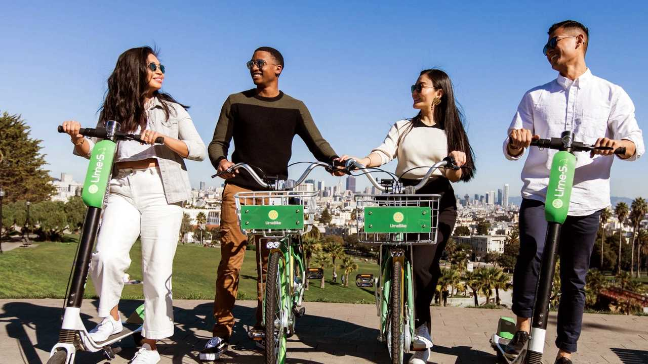 Smug Millennials Seen Here Killing Harley-Davidson With Lime Scooters and Bikes