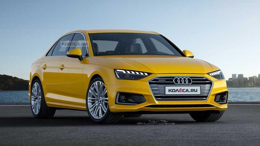 Audi A4 render
